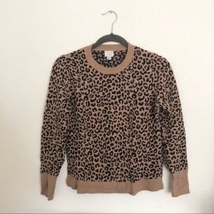 A new day leopard sweater